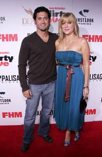 David O'Donnell and Jennifer Aspen at the premiere of