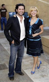 David O'Donnell and Jennifer Aspen at the Egyptian premiere of