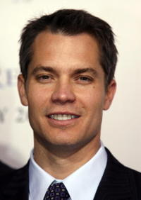 Timothy Olyphant arrives on the red carpet for the film premiere of