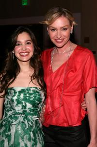 Gina Philips and Portia de Rossi at the 16th Annual