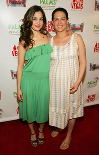 Gina Philips and Amy Greenspun at the CineVegas film festival.