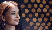 Aishwarya Rai at a press conference to launch a new Nakshatra collection in Mumbai.