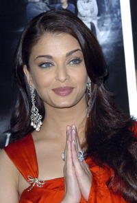 Aishwarya Rai at a London photocall for