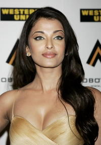 Aishwarya Rai at the MOBO Awards 2006 in London.