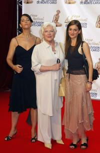Cristiana Reali, Line Renaud and Clio Baran at the 44th Monte-Carlo Television Festival.