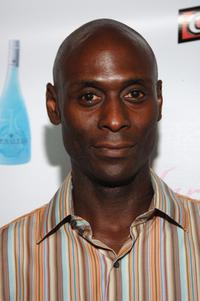 Lance Reddick at the Opening Night of