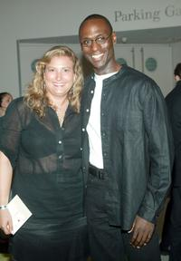 Lance Reddick at the party of