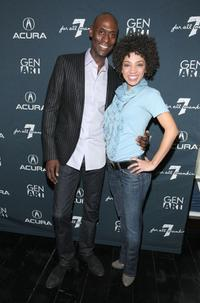 Lance Reddick and Jasika Nicole at the 14th Annual Gen Art Film Festival.