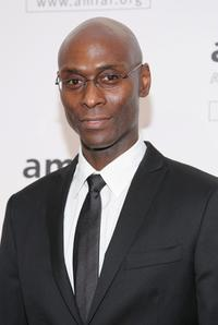 Lance Reddick at the amfAR New York Gala.