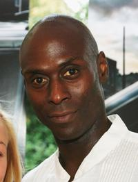 Lance Reddick at the premiere of