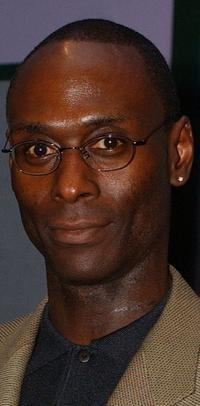 Lance Reddick at the screening of