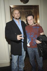 Cris Judd and Jed Rhein at the Luxe Wear Fall/Winter Fashion Show .