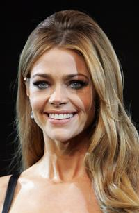 Denise Richards at the runway during the