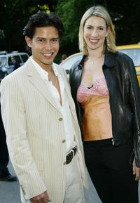 Anthony Ruivivar and Ivonne at the Fresh Air Fund
