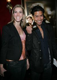 Ivonne Jung and Anthony Ruivivar at the New York Premiere of