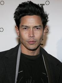Anthony Ruivivar at the party to celebrate Montblanc's 100th Anniversary.