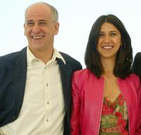 Toni Servillo and Olivia Magnani at the photocall of