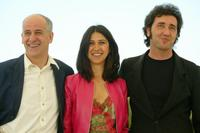 Toni Servillo, Olivia Magnani and Director Paolo Sorrentino at the photocall of