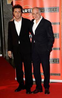 Paolo Sorrentino and Toni Servillo at the Martini premiere Award ceremony.