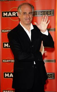 Toni Servillo at the Martini premiere Award ceremony.