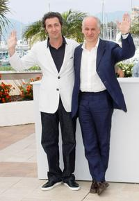 Director Paolo Sorrentino and Toni Servillo at the photocall of