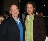 J.K. Simmons and Hawk Ostby at the after party of the LA premiere of