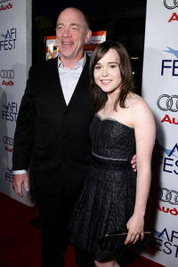 J.K. Simmons and Ellen Page at the screening of