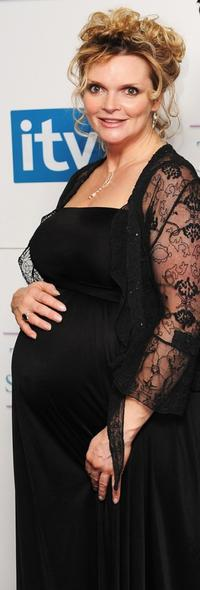 Sharon Small at the British Soap Awards 2008.