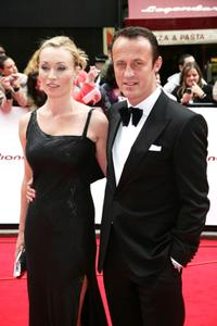 Victoria Smurfit and Guest at the British Academy Television Awards.