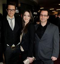 Peter Stebbings, Kat Dennings and Nicholas Tabarrok at the premiere of