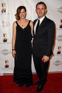 Jocelyn Stuart and James Patrick Stuart at the 40th Annual Annie Awards.