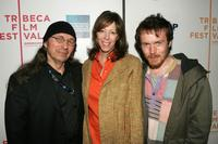 John Trudell, Jane Rosenthal and Damien Rice at the Tribeca Film Festival ASCAP Music Lounge.