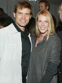 Casper Van Dien and Catherine Oxenberg at the 1st Annual Palms Casino Royale to benefit the Los Angeles Lakers Youth Foundation.