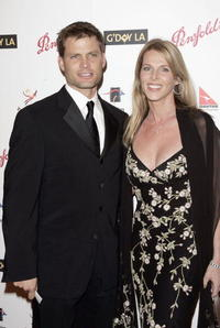Casper Van Dien and Catherine Oxenberg at the Penfolds Icon Gala presented by G'Day La: Australia Week 2006.