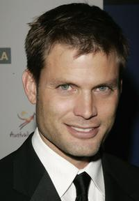 Casper Van Dien at the Penfolds Icon Gala.