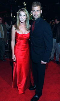 Catherine Oxenberg and Casper Van Dien at the premiere of