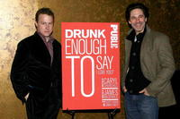 Samuel West and Scott Cohen at the opening night party of