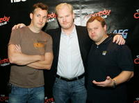 Harland Williams, Frank Caliendo and Jim Gaffigan at the Colosseum at Caesars Palace.