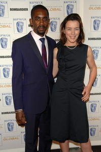 Rhashan Stone and Olivia Williams at the 17th Annual British Academy of Film & Television Arts/Los Angeles Britannia Awards.