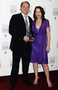 Rory Kinnear and Olivia Williams at the Laurence Olivier Awards.