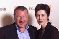 Ray Winstone and Gina McKee at the BAFTA Awards.