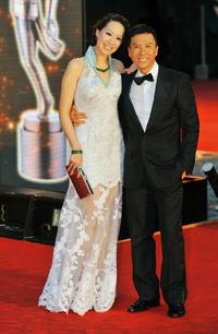 Cissy Yen and Donnie Yen at the 28th Hong Kong Film Awards 2009.