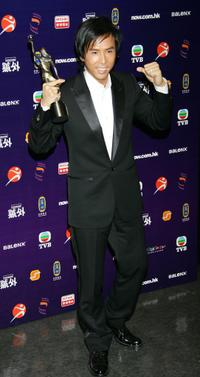 Donnie Yen at the 25th Hong Kong Film Awards.