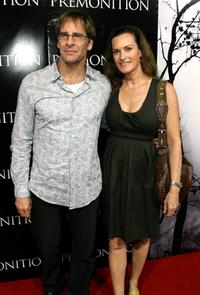 Scott Bakula and his wife Chelsea Field at the TriStar premiere of