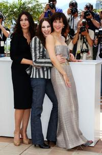 Monica Bellucci, Marina de Van and Sophie Marceau at the photocall of