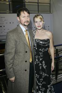 Todd Field and Kate Winslet at the Times BFI 50th London Film Festival screening of