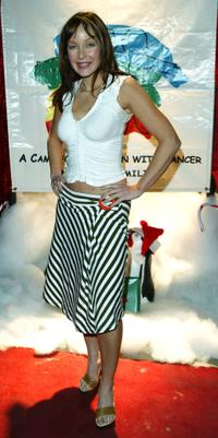 Holly Fields at the Ronald McDonald House Celebrity Charity Christmas Party.