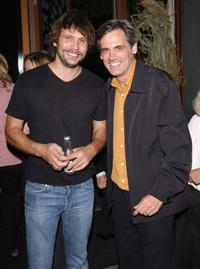 Jeremy Sisto and Randall Arney at the premiere after party of