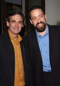 Randall Arney and Ian Barford at the after party premiere of