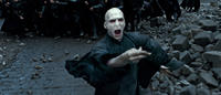 Ralph Fiennes as Lord Voldemort in